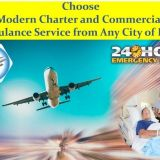 Select Most Popular and Secure Air Ambulance Services in Varanasi with Latest Amenities