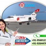 High-tech Medivic Air Ambulance Services in Cuttack at Nominal Cost