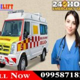 Utilize Best and Safest Medilift Ambulance Service in Kankarbagh, Patna at Low Cost