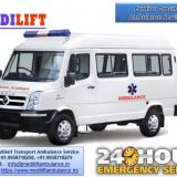 Utilize Affordable Medilift Ambulance in Boring Road, Patna for Patients Shifting Facility