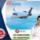 Now Hire Air Ambulance Service in Aizawl at Very Comprehensive Cost