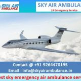 Avail Extremely Advanced Air Ambulance Service in Bokaro