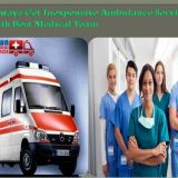 Book the Most Convenient Ambulance Service in Lalpur with Medical assistance
