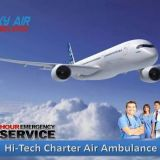 Select Air Ambulance Service from Jamshedpur with Comfortable Journey