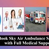 Find Highly-Developed Air Ambulance Service in Dehradun with Experienced Medical Team