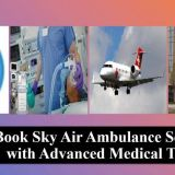 Fast Air Ambulance Service in Darbhanga with rapid Medical Service