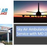 Attain Air Ambulance Service in Dimapur with Highly-Qualified MD Doctors