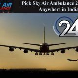 Find Hassle-Free Air Ambulance Service in Goa with Advance Medical Care Facilities