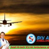 Get MICU Air Ambulance Service in Delhi with Certified Medical Staff