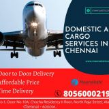 We are the best domestic air cargo services in Chennai and India with best price