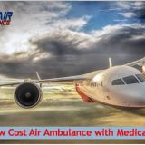 Take ICU Enabled Air Ambulance in Gorakhpur with Physician