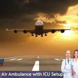 Spectacular Healthcare Support only Available in Sky Air Ambulance from Delhi