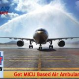 Shift Any Cardiac Patient from Guwahati to Delhi with ALS Support by Sky Air Ambulance