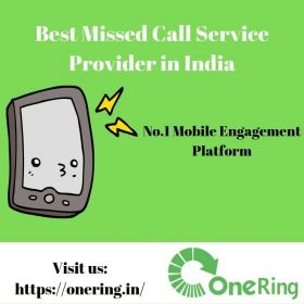 Best Missed Call Service Provider in India- OneRing.in