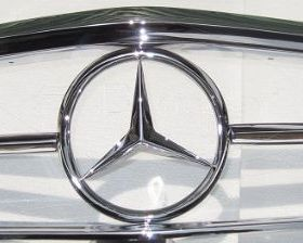 Mercedes W113 Grill (1963-1971) by stainless steel