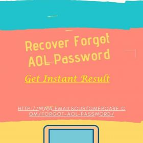 How To Recover Forgot AOL Mail Password?