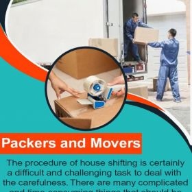 Best packers and movers for home & office shifting services