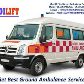 Get Quick and Safe Medilift Ambulance Service in Koderma with the All Medical Facility