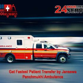 Avail Advanced Version of ICU Ambulance Service in Ranchi