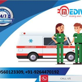 Get Medivic Ambulance Service in Patna with Complete Medical Support