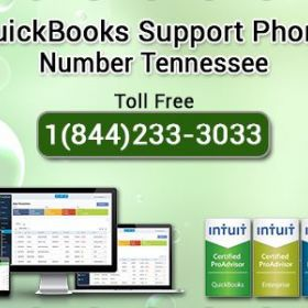 Dial Quickbooks Support Phone Number Tennessee+1(844)233-3033