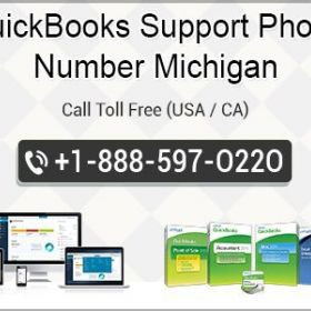 QuickBooks Support Phone Number Michigan 1-888-597-O22O
