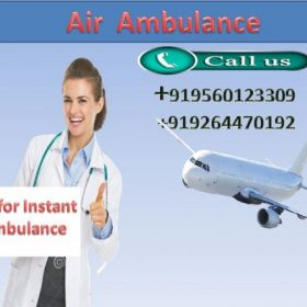 Pick Low Fare Topmost Medivic Aviation Air Ambulance in Ranchi