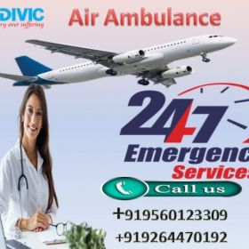 Top and Best Low Fare Air Ambulance in Kolkata by Medivic