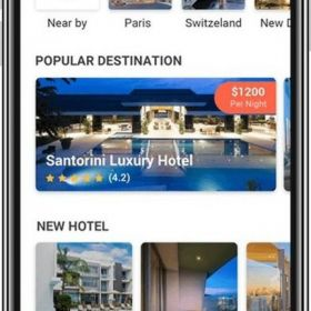 Contribute to the online hotel booking industry by launching an application
