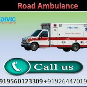 High Class Medivic Road Ambulance Service in Tatanagar with Medical Team
