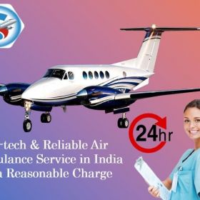 Pick Air Ambulance Service in Ranchi with Authorized Medical Team