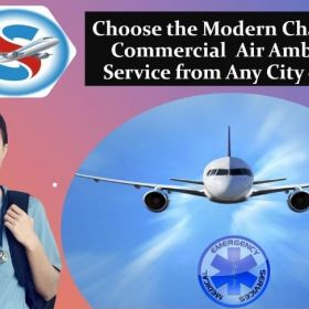 Book Air Ambulance Service in Raipur with Verified Medical Accessories