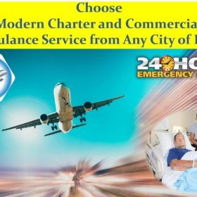 Choose Air Ambulance Service in Bhopal with All Medical Equipment