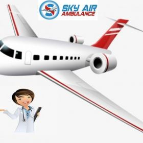 Get Commercial Air Ambulance Service in Darbhanga at Low Fare