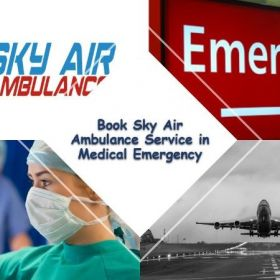 Book the Most Trusted Air Ambulance Service in Delhi by Sky Air Ambulance