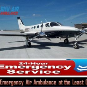 Utilize Air Ambulance from Kolkata to Delhi with the Best Medical Support