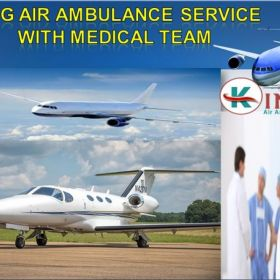 King Air Ambulance Cost from Mumbai to Bangalore Very Low