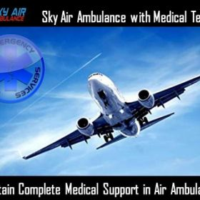Obtain Air Ambulance Service in Chennai with Life-Sustaining Medical Features