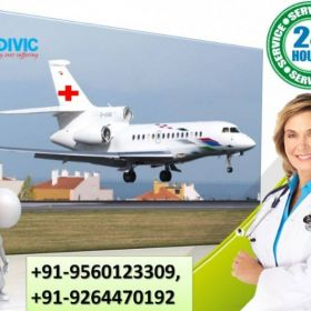 Classy Emergency Care by Medivic Air Ambulance Services in Darbhanga