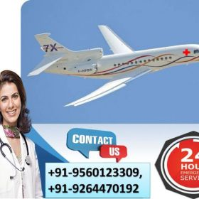 Utilize Predominant Air Ambulance Services in Gaya by Medivic