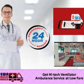 Utilize Ground Ambulance from Dhanbad with Authorized Medical Staff