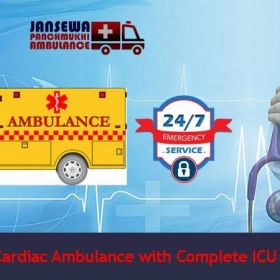 Choose Ground Ambulance Service in Jamshedpur with ICU Facility