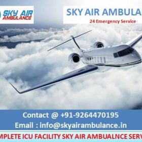 Quickly Book Sky Air Ambulance Service in Aurangabad with ICU Facility