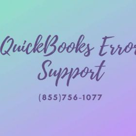 Get full support at QuickBooks Error Support (855)756-1077