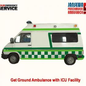 Avail ALS Facility in Road Ambulance from Ranchi
