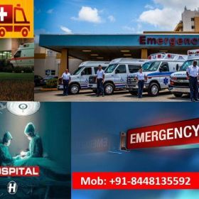 Select the Highly Setup Ambulance Service in Vasant Vihar at Effective Booking Price