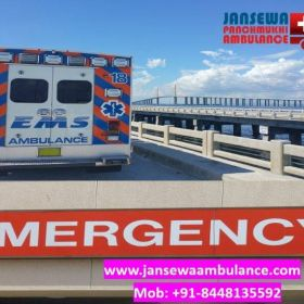 Hire Extensive Road Ambulance Service in Dhurwa with Modern Medical Tools
