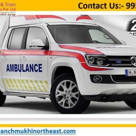 Utilize Outstanding Road Ambulance Service in Sabroom with Entire Healthcare Facility