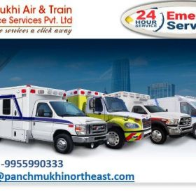 Select the High-Class Ambulance Service in Ranibazar with all Evolved Amenities