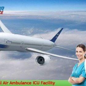 Pick Air Ambulance Services in Guwahati with Complete Health Solution